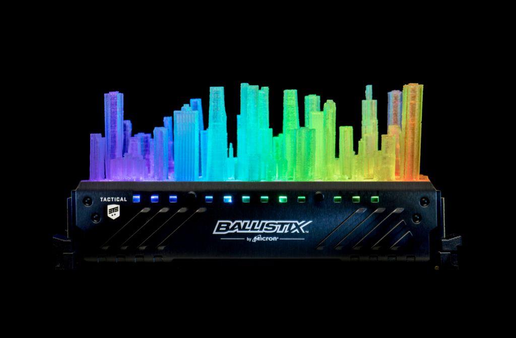 Ballistix Personalizzate - Recensione Crucial Ballistix Tactical Tracer RGB