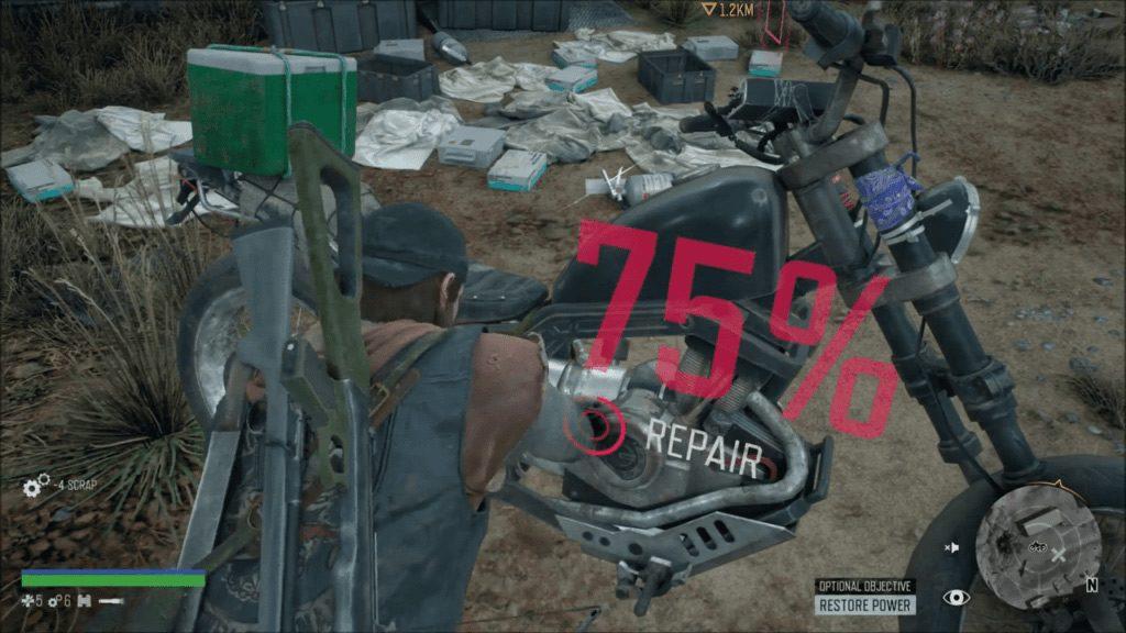 days gone repair 1024x576 - Days Gone, la moto e i suoi comandamenti