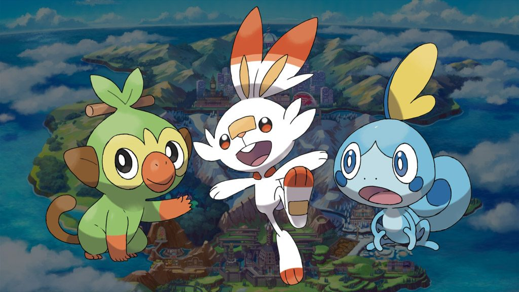 Pokemon spada pokemon scudo starters 1024x576 1024x576 - Pokemon Spada e Pokemon Scudo, ecco tutte le novità