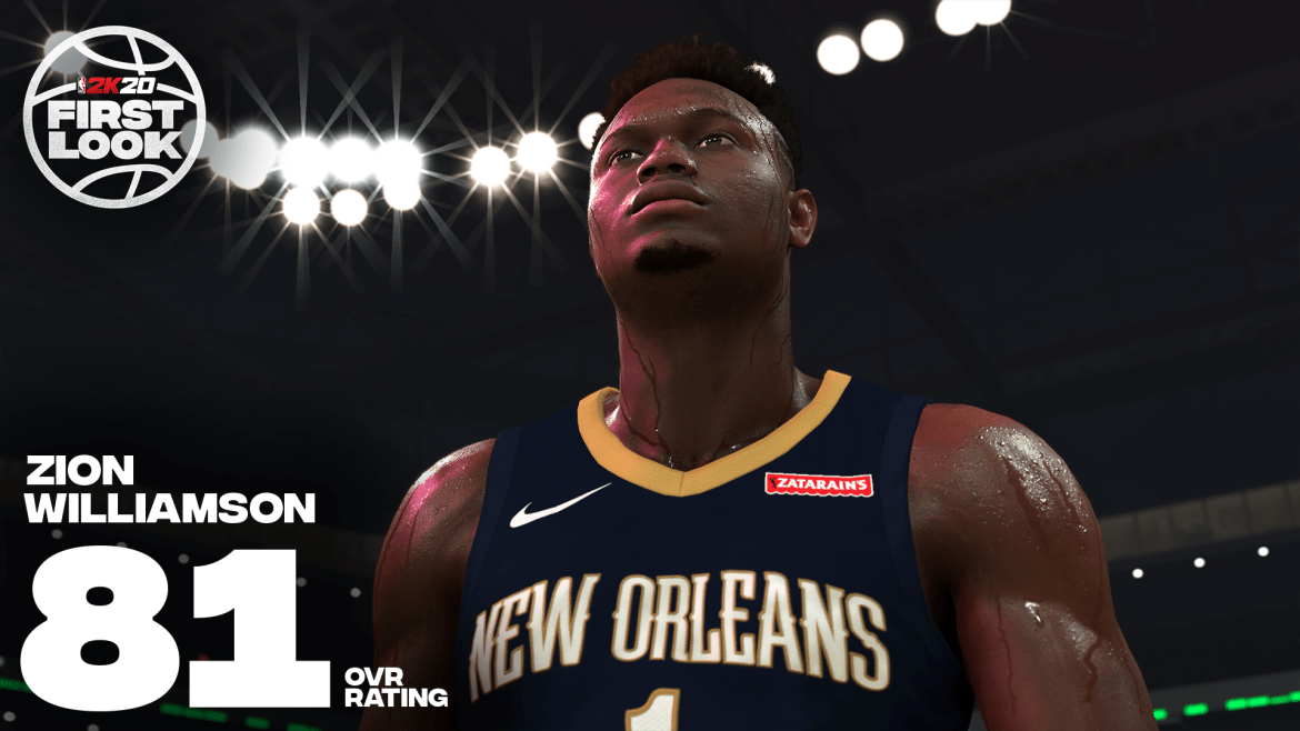 NBA 2K Zion - NBA 2K, annunciata la partnership con la prima scelta di questo NBA Draft Zion Williamson