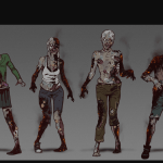 Definitive Gallery Concept Art Zombies Charred e1571648985916 - The Walking Dead: The Telltale Definitive Series si mostra nel nuovo trailer