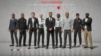 FIFA20CareerMode manager select - FIFA 20, svelate le novità della modalità carriera