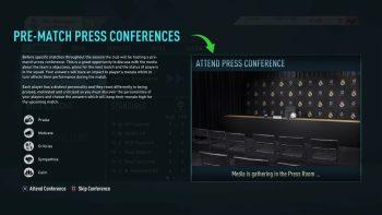 FIFA20CareerMode press conference - FIFA 20, svelate le novità della modalità carriera