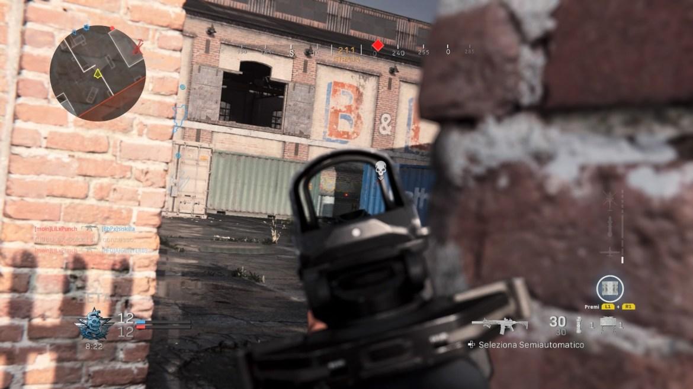 Call of Duty: Modern Warfare Riparo