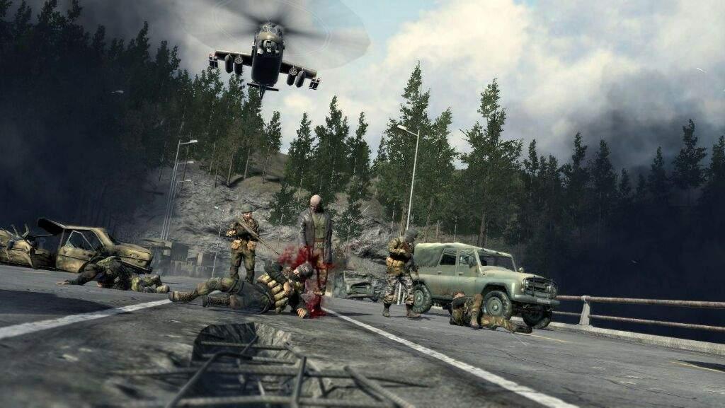 Modern Warfare Zakahev Bridge