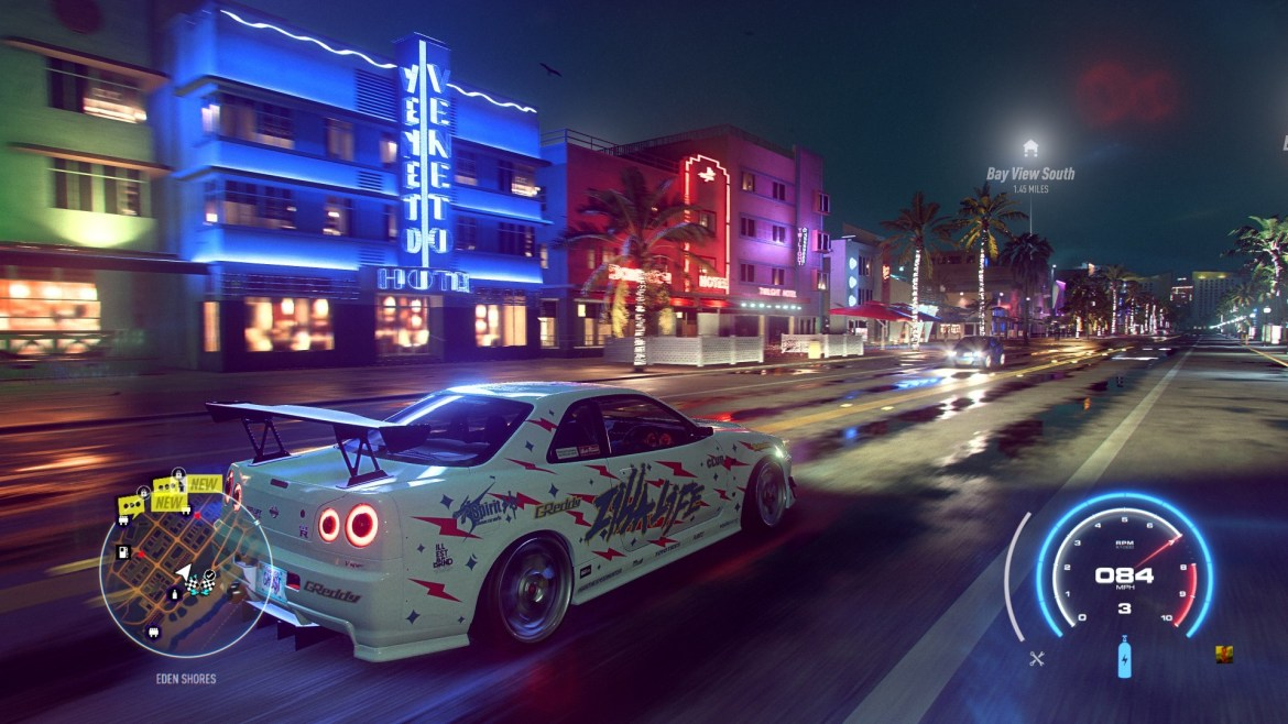 nfs heat screen 1 - Recensione Need for Speed Heat