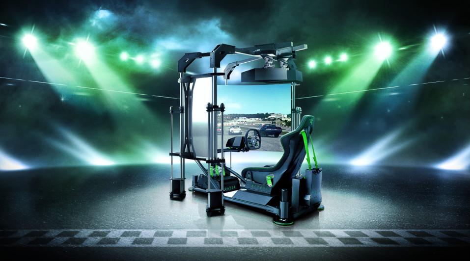 Razer Eracing - CES 2020, Razer punta tutto su PC e gaming mobile