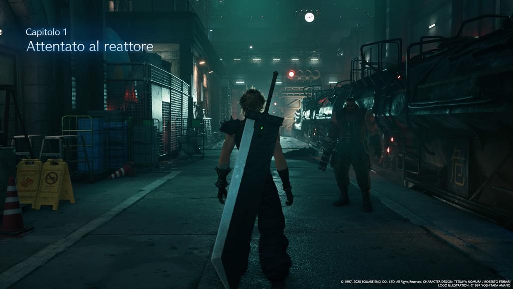 final fantasy 7 remake inizio demo - Final Fantasy 7 Remake, ecco le nostre impressioni dopo aver provato la Demo
