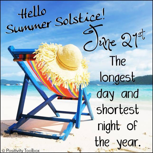 June Solstice Summer And Winter Solstice