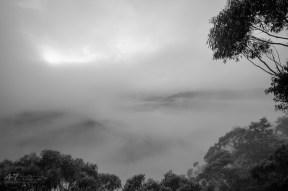 Misty Mountain Sunrise