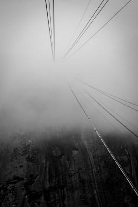 Sugar Loaf in Mist