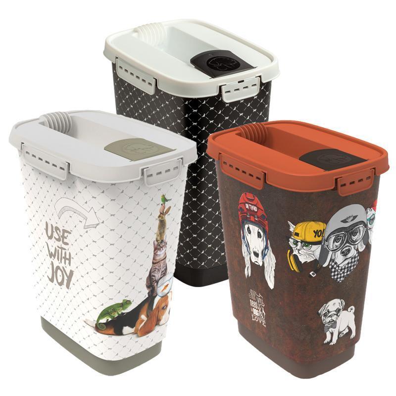 Futterbehälter 10 l in 3 verschiedenen Varianten von Rotho MyPet