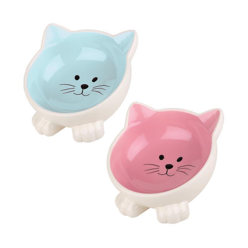Orb Katzennapf in pink und blau von Happy Pet