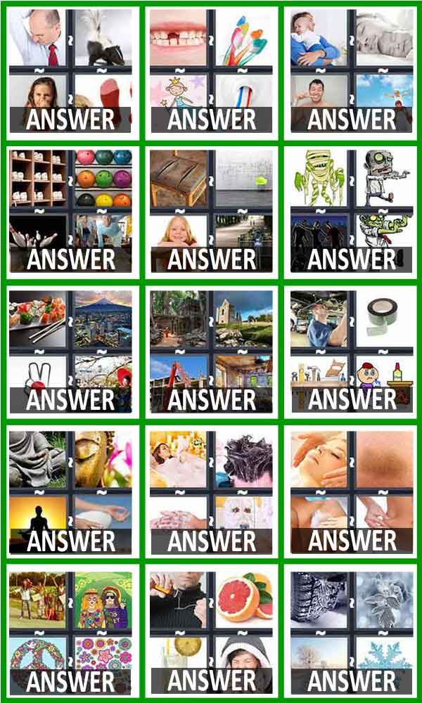 4 Pics 1 Word Answers All Levels