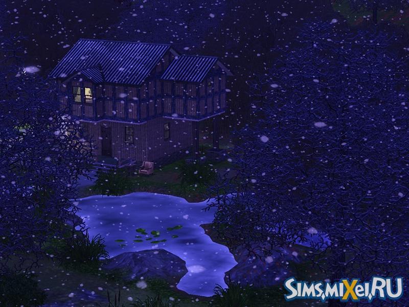 зима в симс 3 времена года