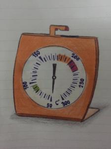 Backofenthermometer als Räucherthermometer
