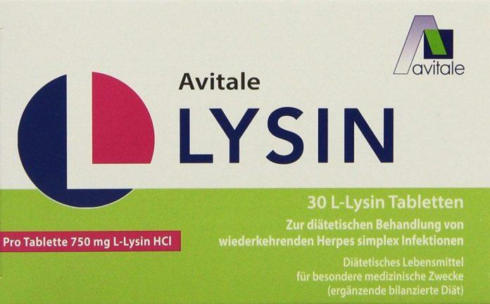 30 Stück Tabletten von Avitale L-Lysin (750 mg) 1er Pack