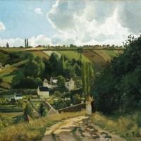 Camille Pissarro (Danish-French, 1830-1903), Jalais Hill, Pontoise (1867)