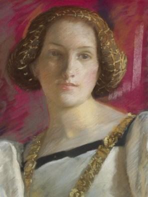 """Edwin Austin Abbey (American, 1852-1911), """"Desdemona"""" (detail)"""