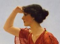 "John William Godward (English, 1861-1922), ""The Signal"" (detail)"