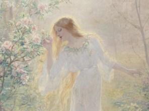 "René Gérin (French, 1862-95), ""L'été"" (detail)"