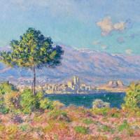 """Claude Monet (French, 1840-1926), """"Antibes, vue du Plateau Notre-Dame"""""""