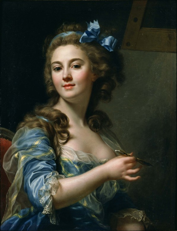 "Marie-Gabrielle Capet (French, 1761-1818), ""Self Portrait"" (1783)"