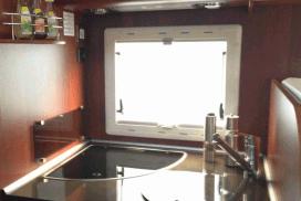 Kleien Küche im Super Brig 687 tc