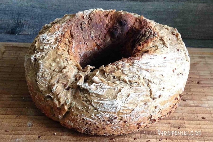 Brot backen mit Backmischung