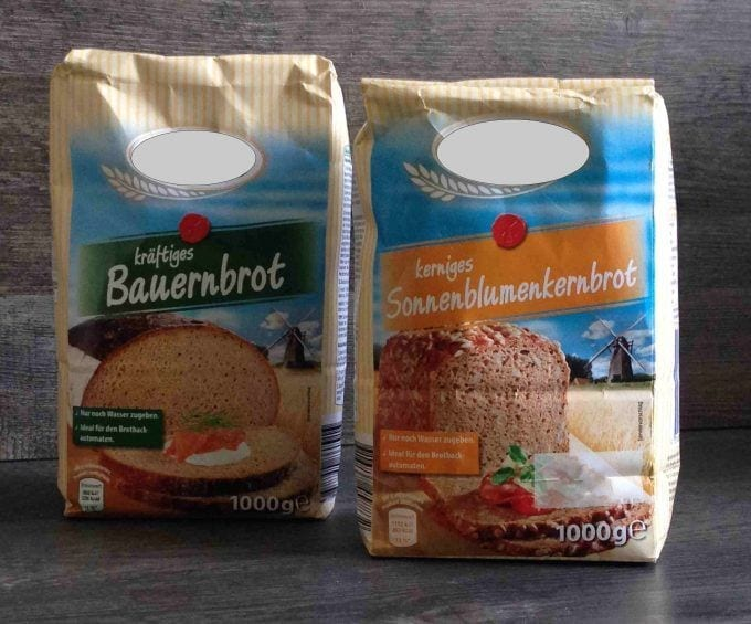 Brotbackmischung für den Omnia-Backofen