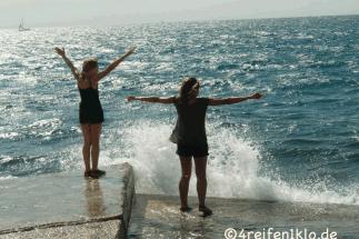 kroatien-porec-wellen-meer