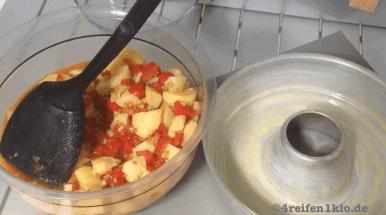 tortilla espanola-omnia backofen-gemuesemischung