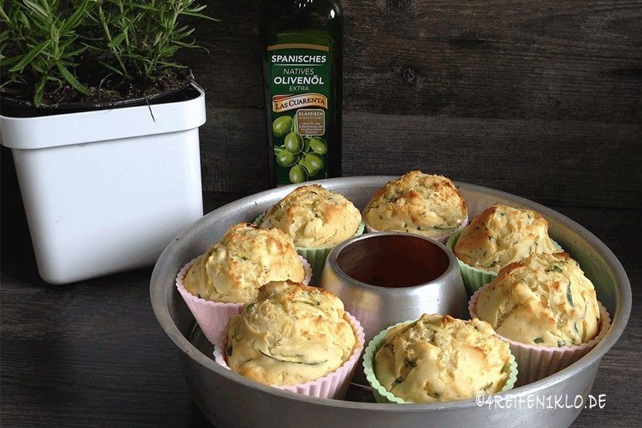 Schafskäse-Zucchini-Muffins
