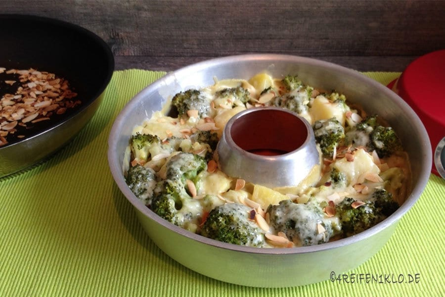 Kartoffel-Brokkoli-Auflauf