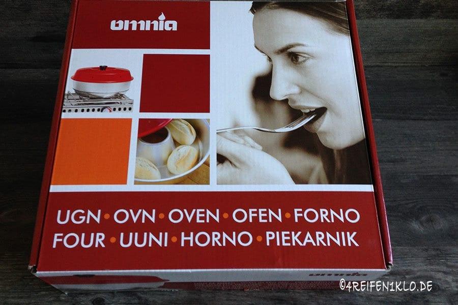 Omnia-Backofen Verpackung