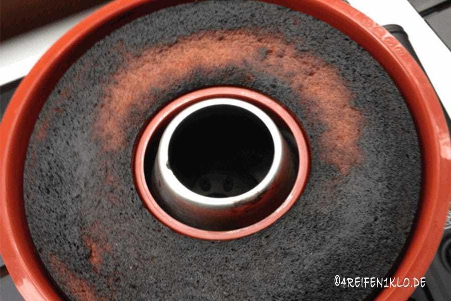 Kuchen aus dem Omnia-Backofen