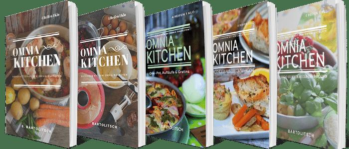 Koch- und Backbücher Omnia-Backofen
