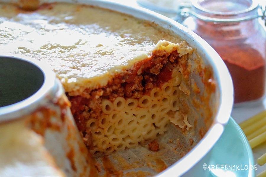 Pastizio (griech. Makkaroniauflauf)
