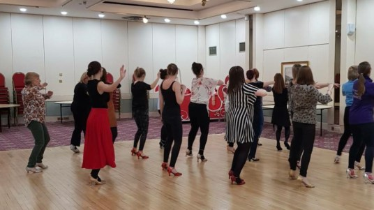 Ladies Tango training