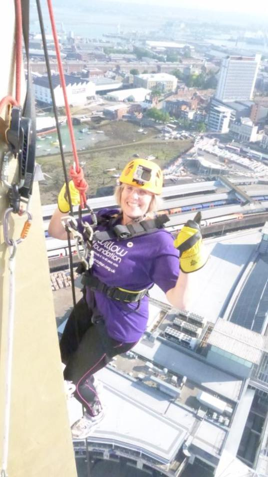 1st Challenge - Spinnaker Tower - Abseil - August 2016