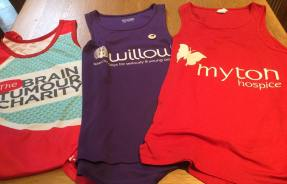 Supporting The Brain Tumour Charity, Myton Hospices and the Willow Foundation