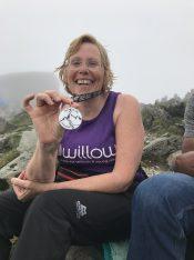 Three Peaks Medal
