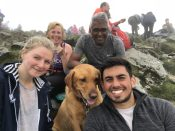 Top of Snowdon #family