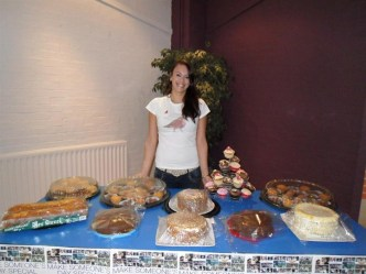 2012 - Jess held a coffee raising £828.08
