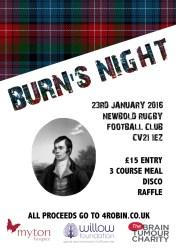 Kazz Fox - Burns Night 2016