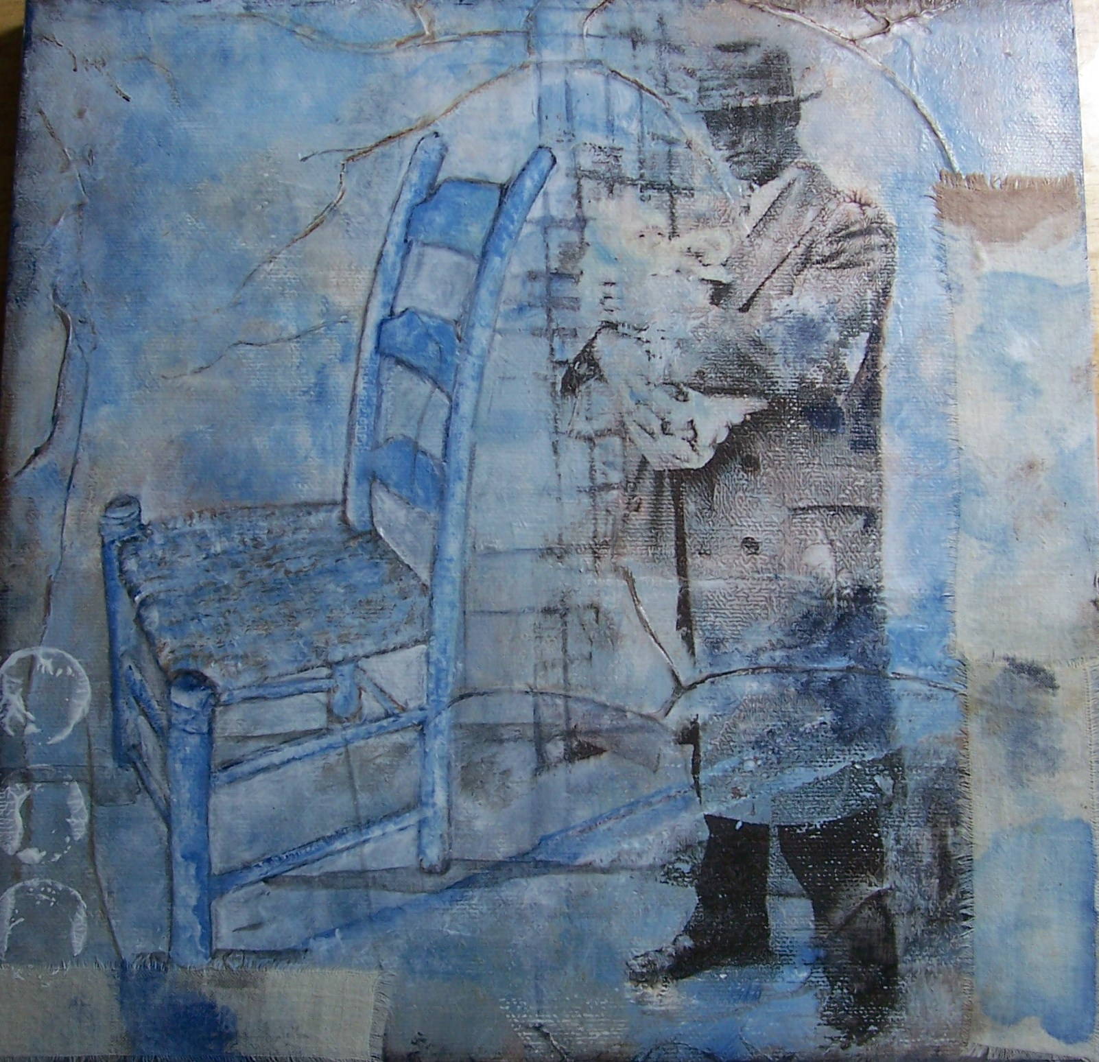 The Blue Chair 001