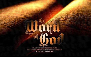 Image result for centrality of God's word