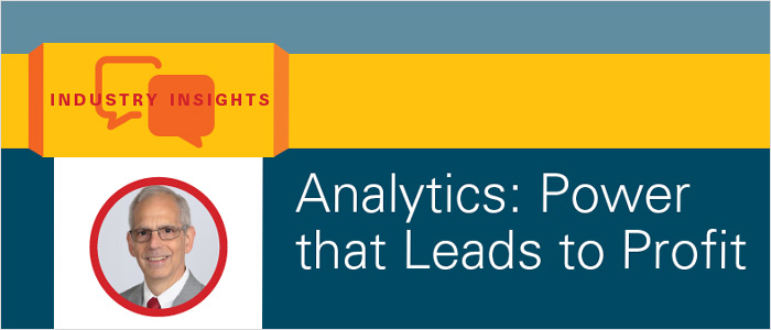 Analytics: Power that Leads to Profit
