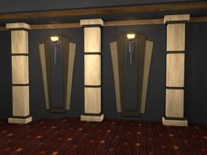 Techno Square Home Theater Column