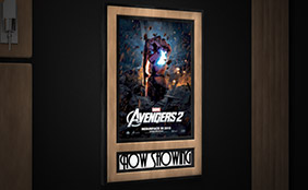 Home Theater Decor   Movie Theater Accents   4seating Movie Poster Frame